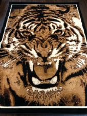 Modern Approx 8x5ft 160x230cm Woven Backed Tiger Design Quality rugs Bargain